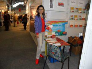 Tatin Giannaro auf der Frankfurter Buchmesse 2011