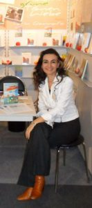 Tatin Giannaro erwartet die Leser auf der Frankfurter Buchmesse 2010