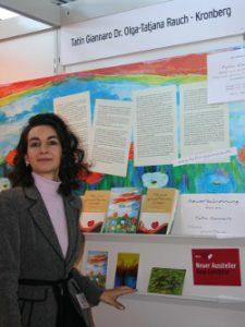 Tatin Giannaro präsentiert sich auf der Frankfurter Buchmesse 2009